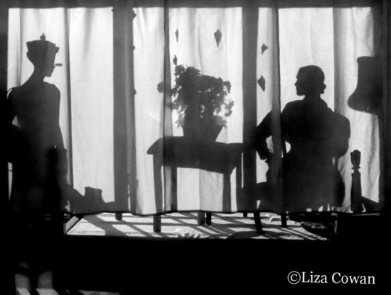 Mannequin silhouette, flower silhouette, adel rootstein mannequin, ralph pucci mannequin, retail window design, liza cowan photo