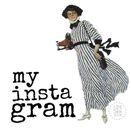 My instagram Liza Cowan. Liza Cowan design. Image from Kodak early 20th Century