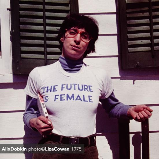 The future is female alix dobkin photo ©Liza Cowan 1975 copy