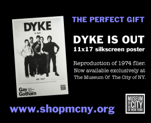 The perfect gift dyke is out mcny