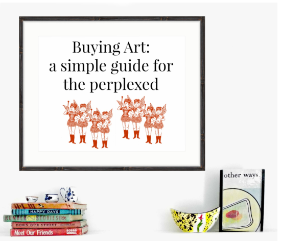 Buying art a simple guide for the perplexed liza cowan how to buy art