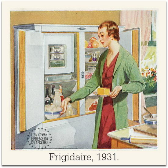 Frigidaire 1931 Cowan Ephemera Collections