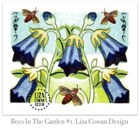 Bees in the garden #1