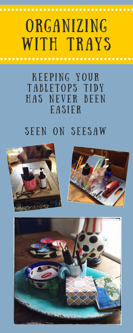 Keeping your tabletop tidy has never been easier. As seen on SeeSaw.typepad.com