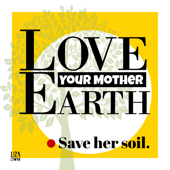 Liza cowan design love your mother earth 2019