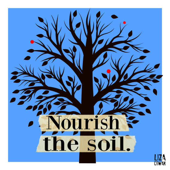 Liza cowan nourish the soil 2019