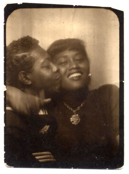 american photobooth, nakkin goranin, african american sailor, african american couple in photobooth,