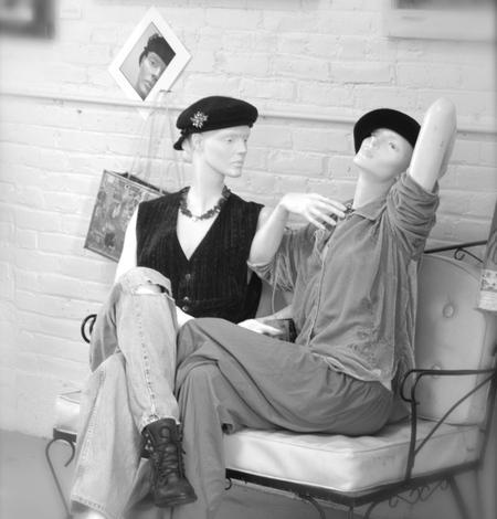 Mannequin, rootstein, photo liza cowan, mannequin conversation