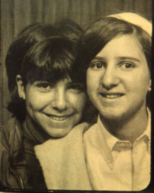 photobooth, teenage girls 1960's